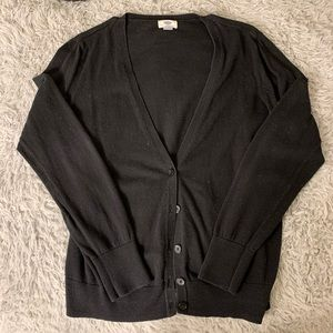 Old Navy black cardigan
